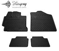 Резиновые коврики Stingray для TOYOTA Camry V50 2011 - комплект 4 шт.
