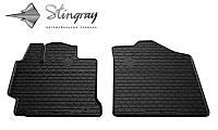 Резиновые коврики Stingray для TOYOTA Camry V50 2011 - комплект 2 шт.