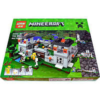 "Конструктор LEPIN 18005 Minecraft \ Майнкрафт (аналог Lego 21127) ""Крепость"", 523 дет."
