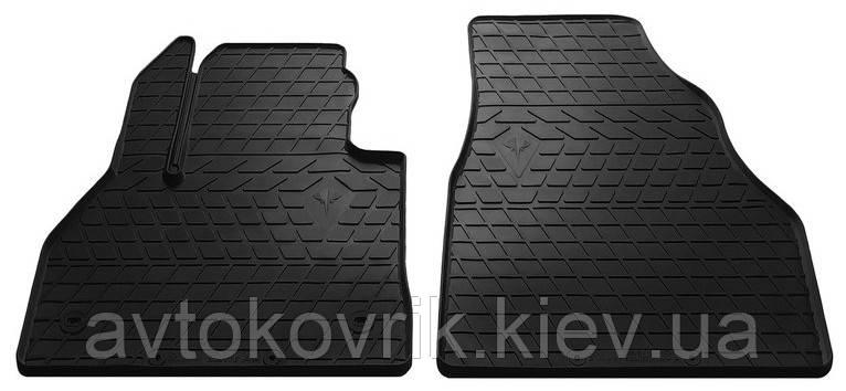Резиновые передние коврики в салон Renault Kangoo II 2008- (STINGRAY)