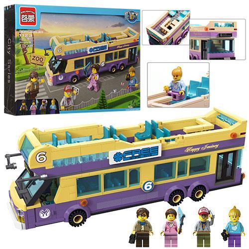 Конструктор City Экскурсионный автобус