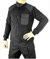 Флисовая кофта Полиции с нагрудным карманом.Плотность: 320 г/м.