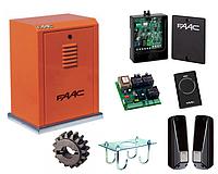 Автоматика FAAC 884 MC 3PH (комплект)  для откатных ворот массой до 3500кг, фото 1