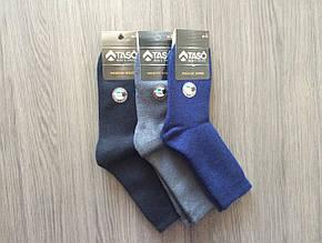 Носки мужские Taso шерстяные длинные Темно-серый, 27
