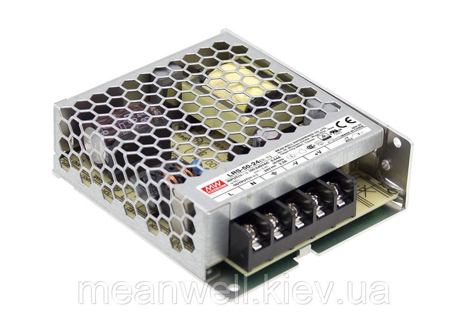 LRS-50-24 Блок питания Mean Well 52.8Вт, 24В, 2.2А