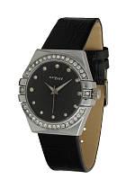 Часы женские NewDay классические с камнями