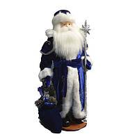 Дед Мороз в синем (под елку) 53 см, фото 1