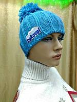 Tissa TM Loman, молодежная женская шапка с бубоном на флисе, полушерстяная, фото 1