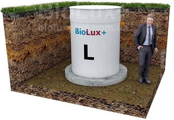 """Автономная канализация BioLux+ """"L"""" производительностью 800 л./сутки для 1-3 человек"""