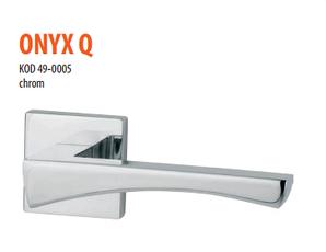 Дверная ручка VDS Onyx Q хром