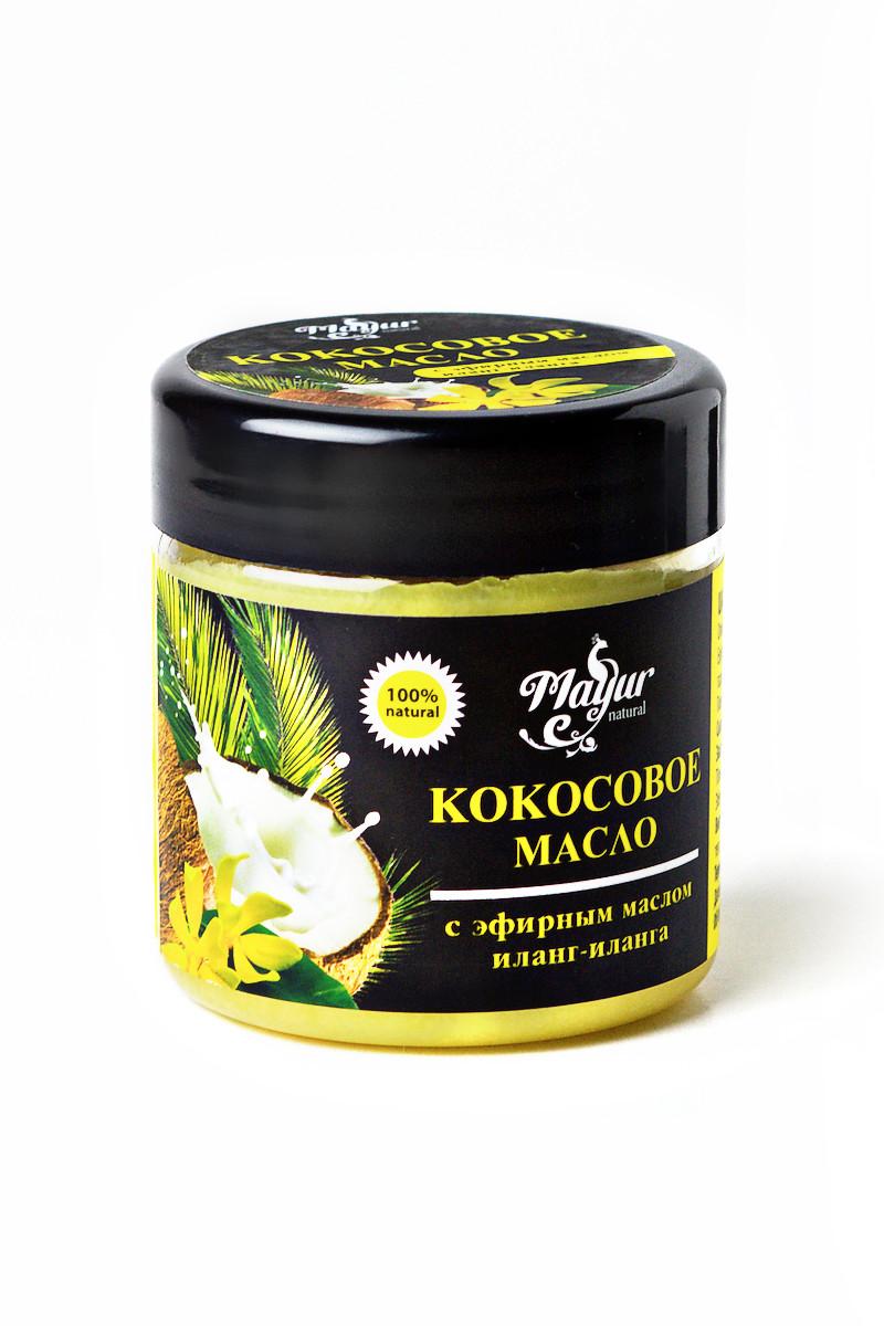 """Кокосове масло з ефірним маслом Іланг-ілангу від ТМ """"Mayur"""", 140 мл"""
