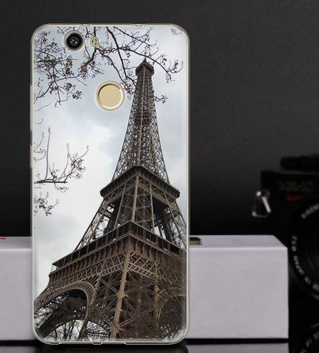 Оригинальный чехол бампер для Huawei Nova с картинкой Башня