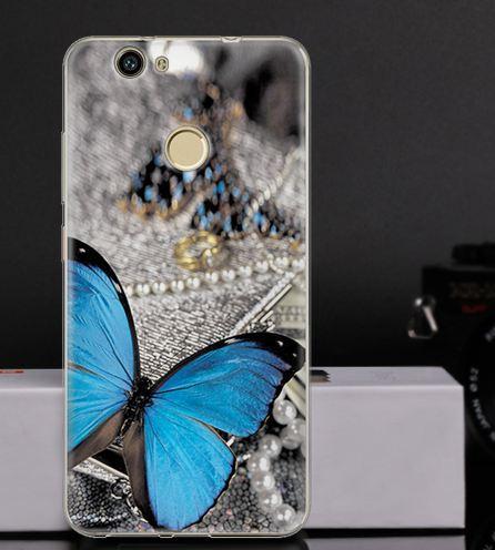 Оригинальный чехол бампер для Huawei Nova с картинкой Бабочка