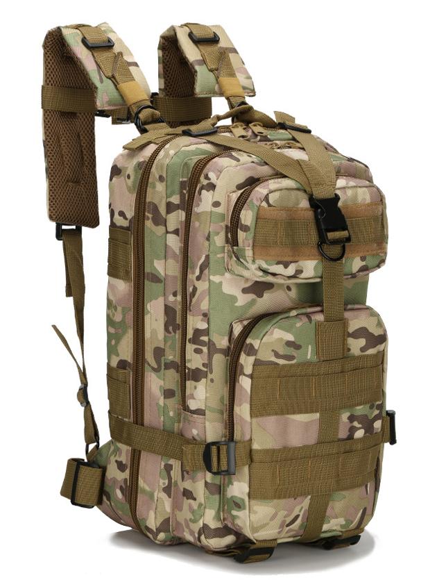 Рюкзак військовий тактичний штурмової Molle на 25литров Мультикам