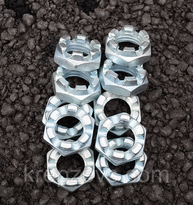 Гайка М42 ГОСТ 5919-73 класса прочности 8.0