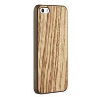 Чехол-накладкаOZAKI Ocoat-0.3Wood for iPhone 5/5S Zebrano OC545ZB