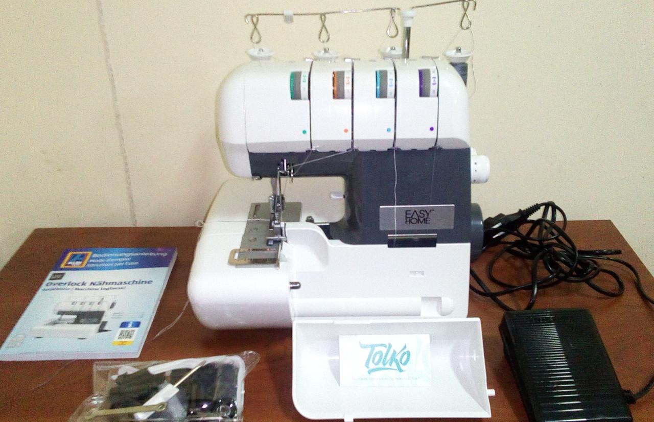 Швейный оверлок Medion MD 16600/14302 + Швейная машинка MD 17329