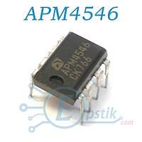 APM4546, Mosfet транзистор N+P chanel, DIP-7