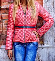 Куртка женская Gucci style 2973 красная
