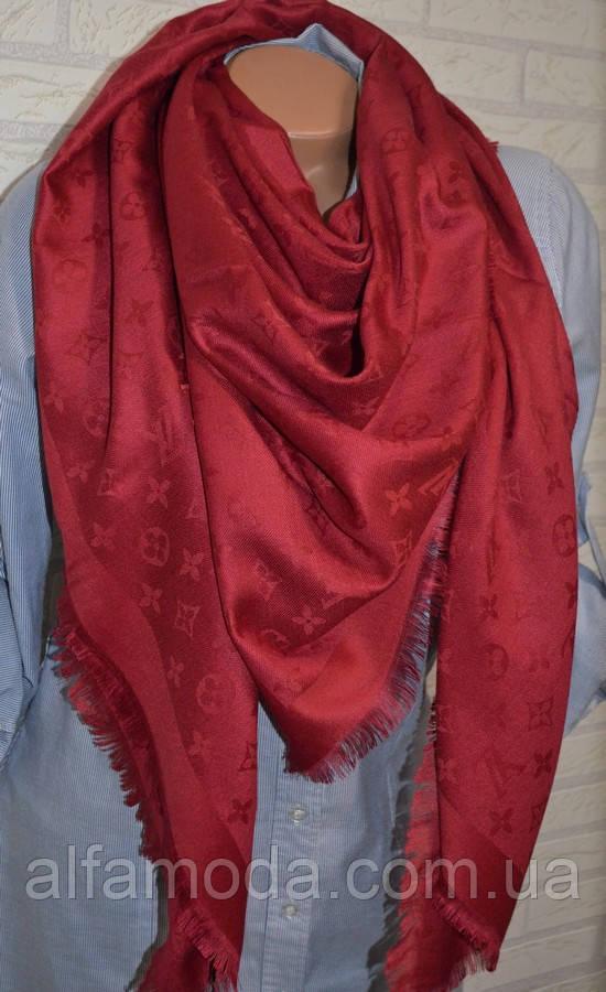 Платок шаль Louis Vuitton (Луи Витон) бордо, цена 320 грн., купить в ... c50f6bcec2a