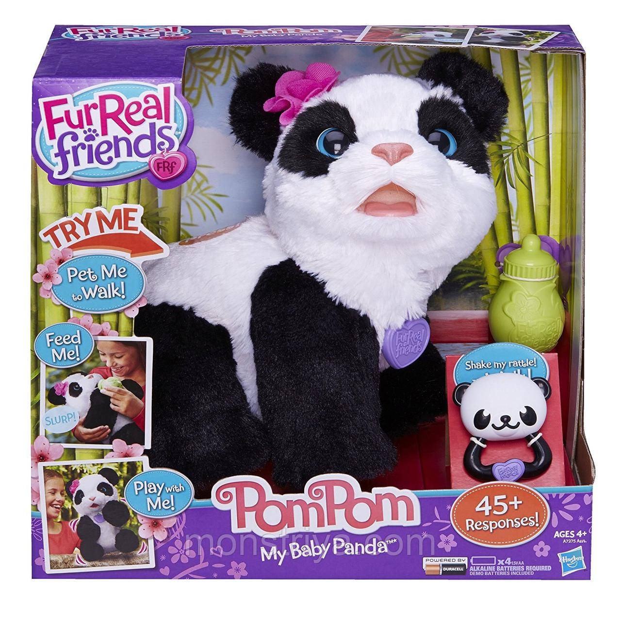 Панда Fur Real Friends Интерактивная игрушка Малыш Панда