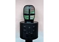 Беспроводной караоке микрофон Bluetooth HIFI WSTER-858(Q) чёрный