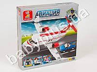 Конструктор SLUBAN Авиация, самолет, машинка, 275 дет MMT-M38-B0365