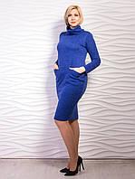 Женское платье батал пол горло р.50-54 VM2166-1