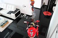 3D Наливной пол для гостинной и спальни
