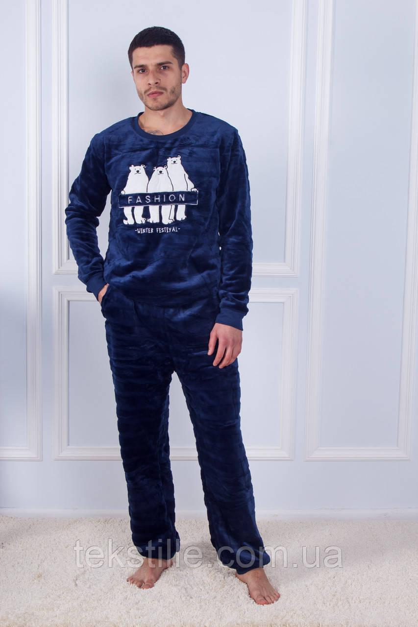 Пижама мужская махровая Бамбук