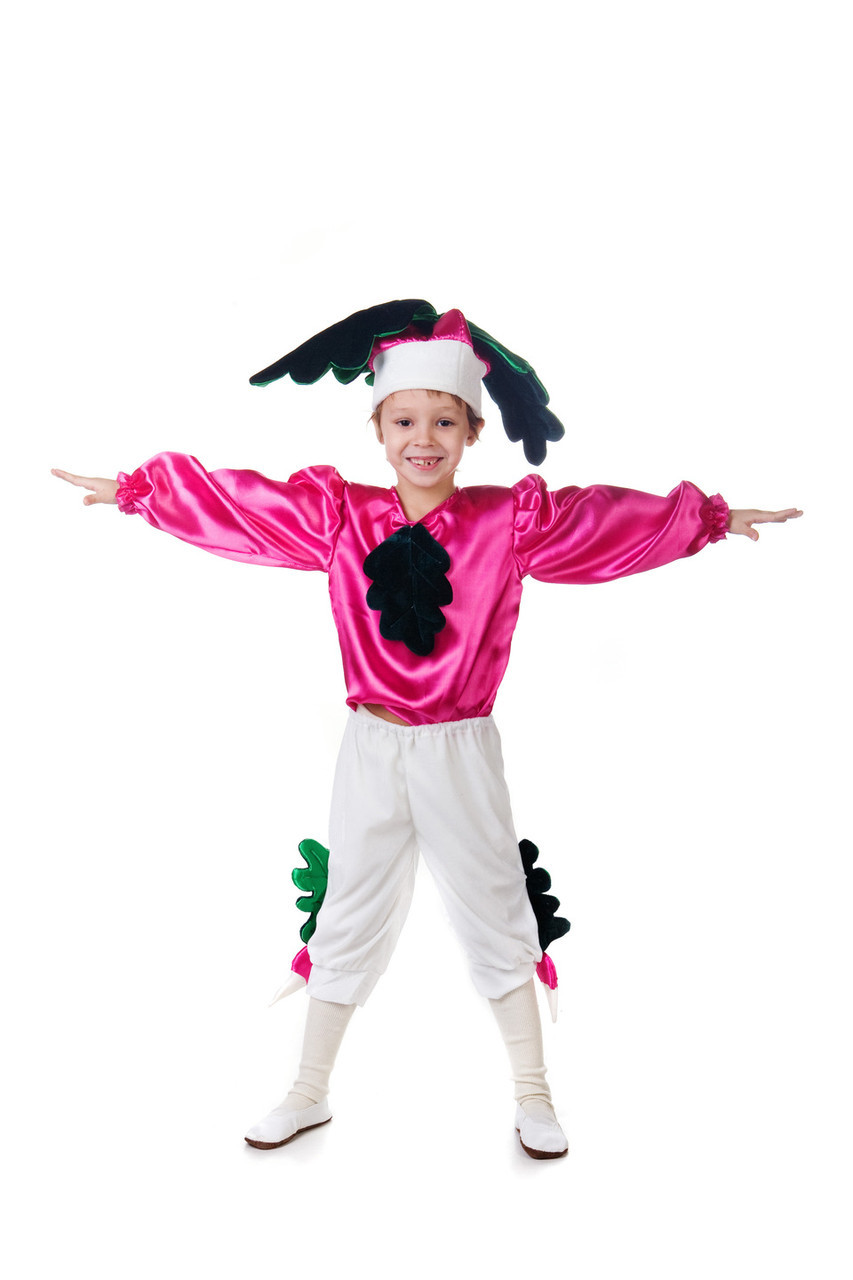 карнавальный костюм редис