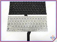 """Клавиатура APPLE A1369, A1466 Macbook Air (2011-2015) MC503, MC504 13.3"""" (RU BLACK Вертикальный Enter). ORIGINAL"""