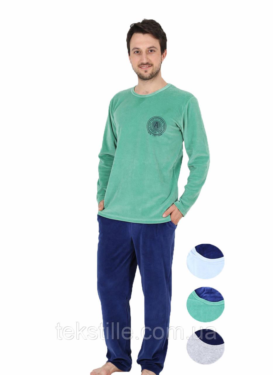 Пижама мужская велюр 4040404417