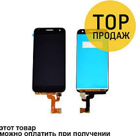 Дисплей для мобильного телефона Huawei G7, белый, с тачскрином