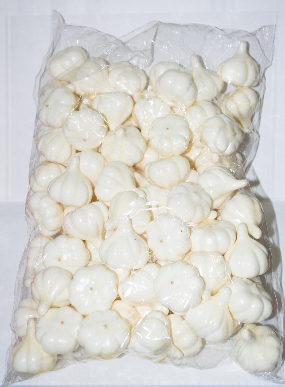 Искусственный чеснок упаковка 100 штук для декора