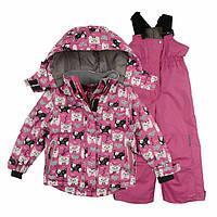 Комплект зимний на девочку: куртка и полукомбинезон.  Лучше, чем Lenne по характеристикам