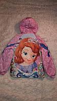 Куртка для девочки  весенняя 122..128  Принцесса София (И.Н.Г.)