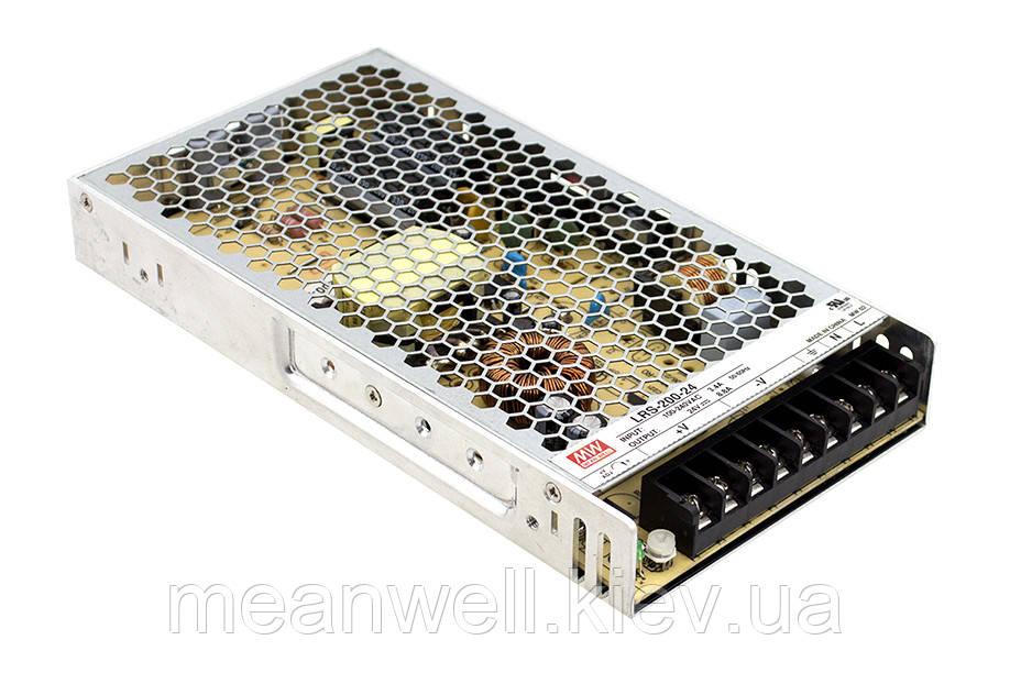 LRS-200-24 Блок живлення Mean Well 211.2 вт, 24в, 8.8 А
