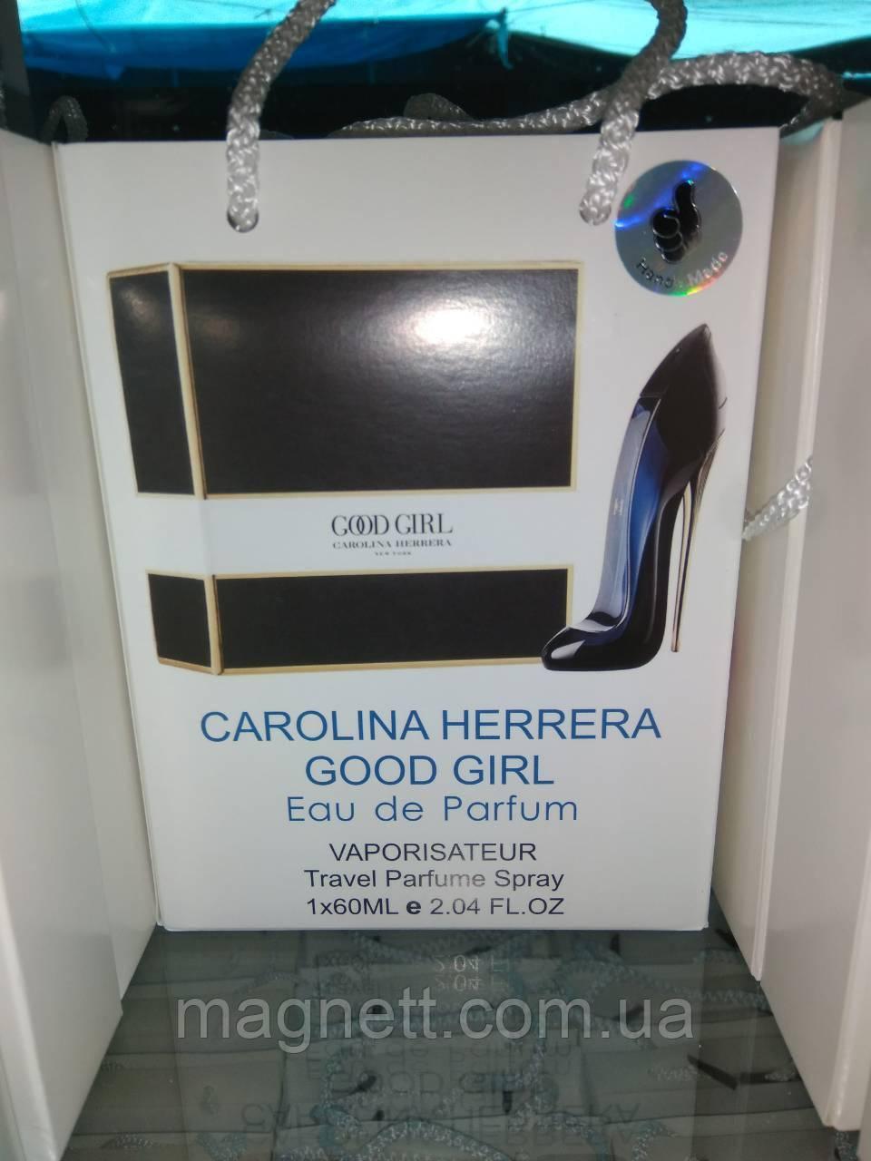 Женский парфюм в подарочной упаковке Carolina Herrera Good Girl 60 мл
