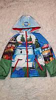 Куртка для мальчика  весенняя 122..128  Поли  (И.Н.Г.)