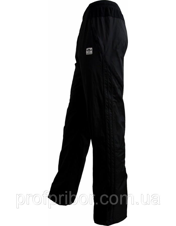 Мужские спортивные штаны Адидас  копия из плащевки на х/б подкладке