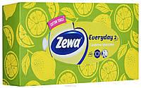 """Zewa. Платки косметические в коробке """"Everyday"""", 100 шт, в ассортименте (043464)"""