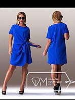 """Красивое женское платье ткань """"Костюмная"""" 48 размер батал"""