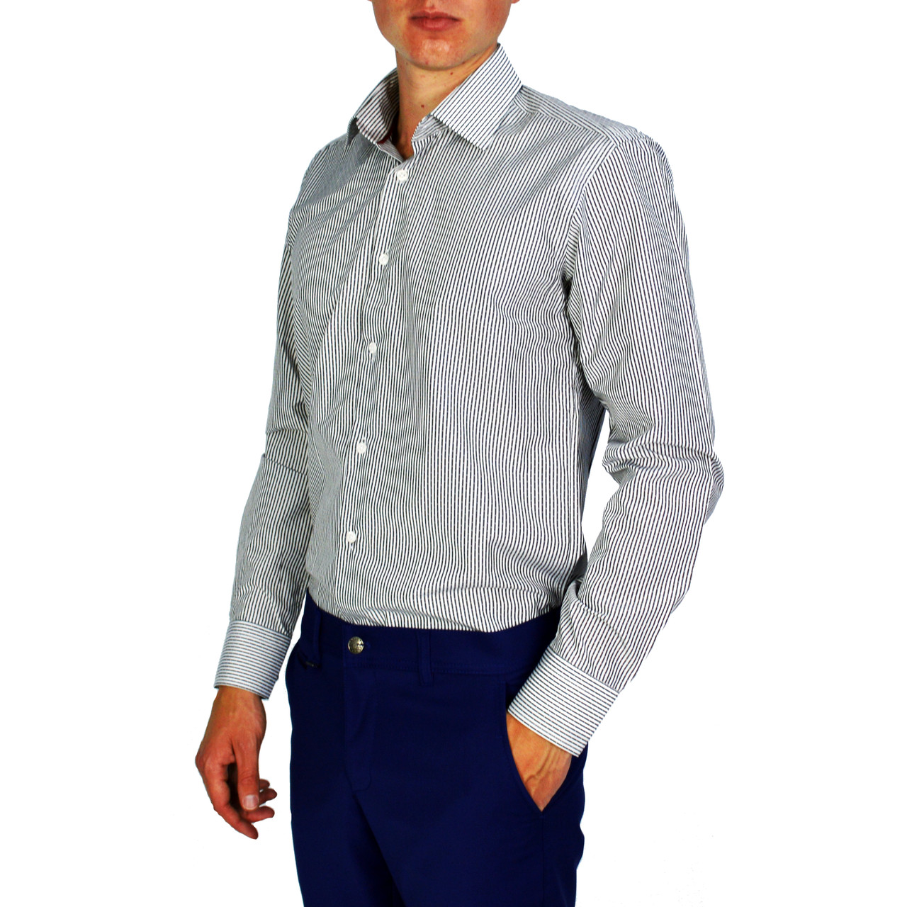 f1964c923ea Полосатая мужская рубашка классическая PALMEN  продажа