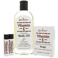 Cococare, Подарочный комплект витамина Е, 4 штуки