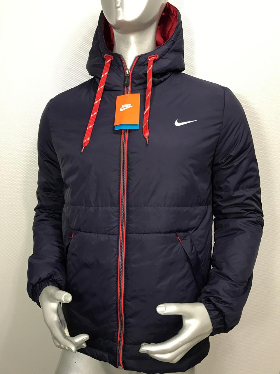 Мужская осенняя куртка Nike копия