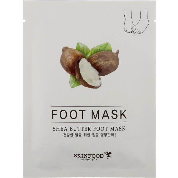 Skinfood, Маска для ног с маслом ши, 0,54 ж. унц. (16 мл)