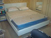 """Двуспальная кровать из экокожи """"Джесика"""""""