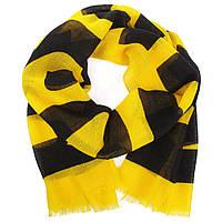 Шарф Moschino Желтый с черным (MS-010)