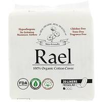 Rael, Inc., Органические ежедневные прокладки, Нормальные, 20 прокладок